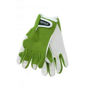 Sprout Ladies Gardening Gloves Olive Green