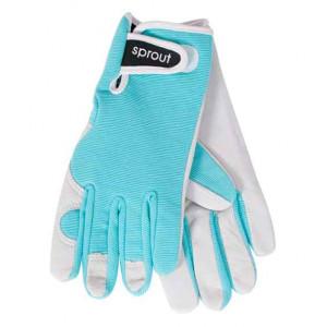 Sprout Ladies Gardening Gloves Seaspray Blue