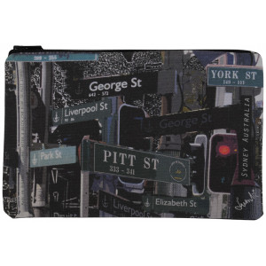 Designer Pencil Case Sydney City Street Signs