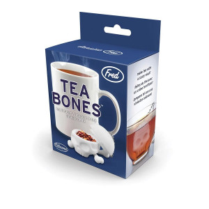 Fred Loose Leaf Tea Cup Strainer Infuser Tea Bones