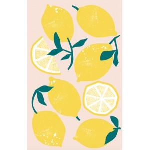 Lemons Design 100% Cotton Kitchen Tea Towel