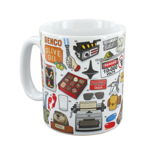 The Movie Buff Large Coffee Mug Tea Cup