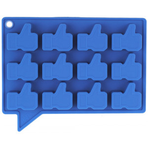 Thumbs Up Blue Ice Cube Tray