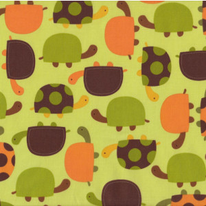 Turtles Urban Zoologie Quilt Fabric