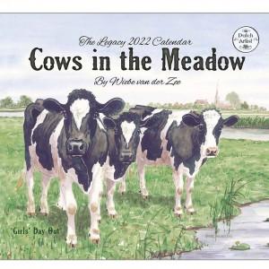 Cows in The Meadow by Wiebe Van Der Vee 2022 Legacy Wall Calendar