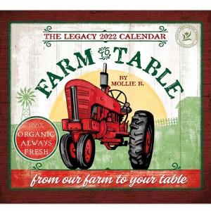 Farm to Table by Mollie B 2022 Legacy Wall Calendar