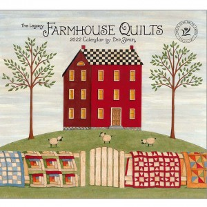 Farmhouse Quilts by Deb Strain 2022 Legacy Wall Calendar