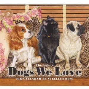 Dogs We Love Sueellen Ross 2022 Legacy Wall Calendar