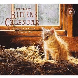 Kittens Sueellen Ross 2022 Legacy Wall Calendar