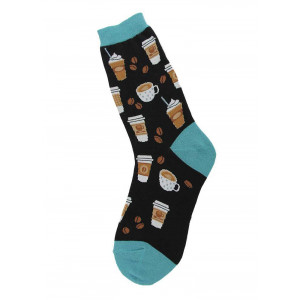 Coffee Design Fun Novelty Womens Socks