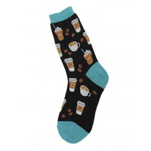 Coffee Design Fun Novelty Womens Socks