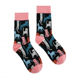 Womens Ladies Fun Novelty Boxed Socks You Had Me At Meow