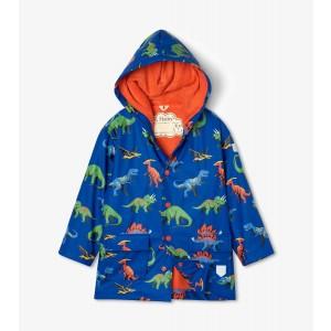 Friendly Dinosaur Boys Girls Kids Raincoat By Hatley