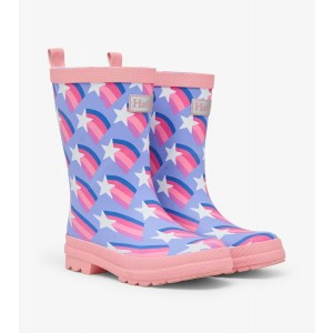 Shooting Stars Matte Kids Rainboots Gumboots By Hatley