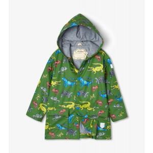 Aquatic Reptiles Kids Raincoat By Hatley