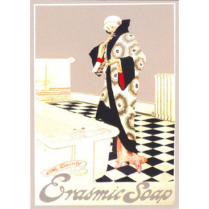 Erasmic Soap Nostalgic Postcard
