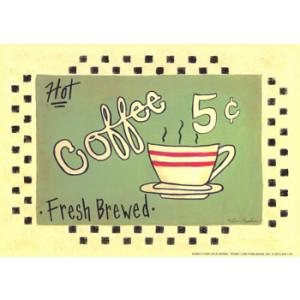 Hot Coffee 5 x 7 Print