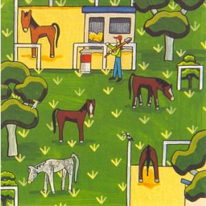 Horses Having a Spell Rachael Flynn Card