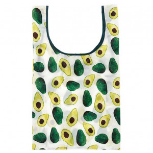 Eco Recycled PET Shopping Tote Bag Avocado