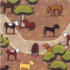 The Stock Route Cows Rachael Flynn Card