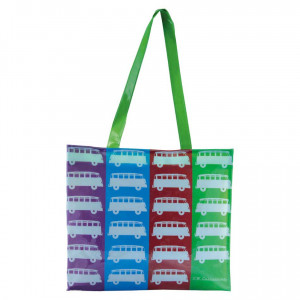 VW Volkswagen Kombi PVC Shopping Bag