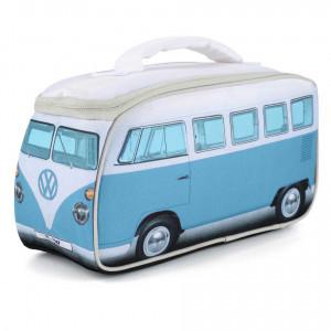 VW Volkswagen T1 Kombi Van Insulated Cooler Lunch Bag Blue