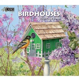 Birdhouses Tim Coffey 2022 Lang Wall Calendar