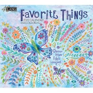 Favourite Things Wendy Bentley 2022 Lang Wall Calendar