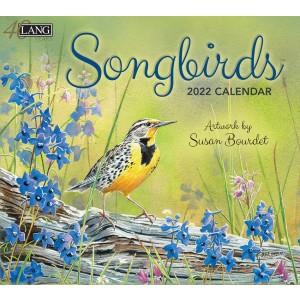 Songbirds Susan Bourdet 2022 Lang Wall Calendar