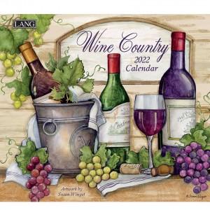 Wine Country Susan Winget 2022 Lang Wall Calendar