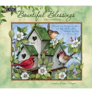Bountiful Blessings Susan Winget 2022 Wall Lang Calendar With Scripture