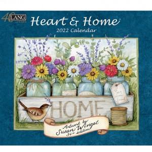 Heart and Home Susan Winget 2022 Lang Wall Calendar