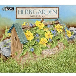 Herb Garden Jane Shasky 2022 Lang Wall Calendar