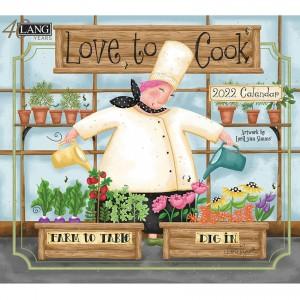 Love To Cook Lori Lynn Simms 2022 Lang Wall Calendar