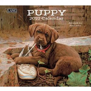 Puppy 2022 Lang Wall Calendar by Jim Lamb