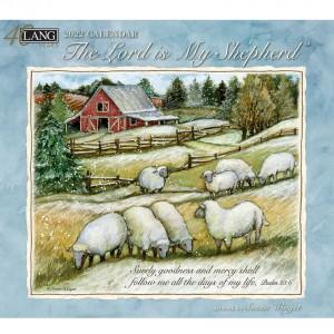 The Lord is My Shepherd Susan Winget 2022 Lang Wall Calendar