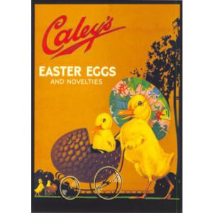 Caleys Easter Eggs Nostalgic Postcard