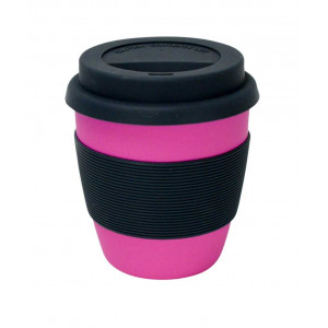 Bamboo Fibre Reusable Travel Coffee Mug 300ml