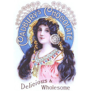 Cadburys Chocolate Delicious Nostalgic Postcard