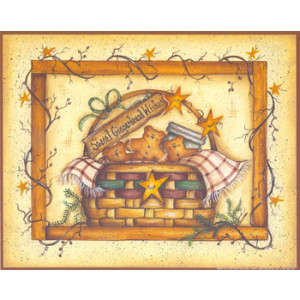Sweet Gingerbread Wishes 8 x 10 Print