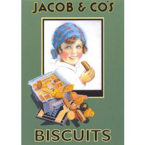 Jacob & Cos Biscuits Nostalgic Postcard