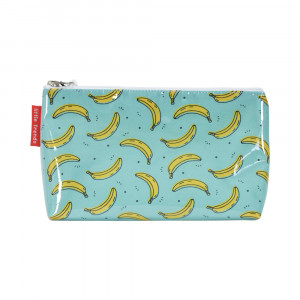Cosmetic Beauty Makeup Storage Toiletry Travel Bag Cool Bananas Small