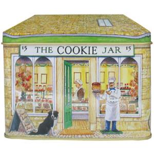 The Cookie Jar Bakery Shop Tin