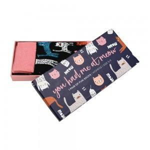 Womens Ladies Fun Novelty Boxed Socks You Had Me At Meow