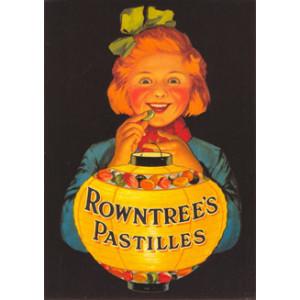 Rowntrees Pastilles Nostalgic Postcard