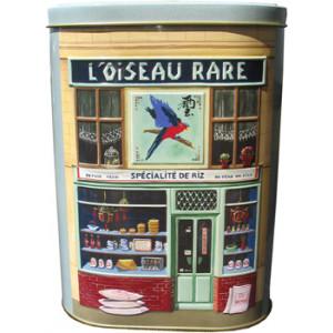 Boutique Asian Style French Delicatessen Design Shop Tin