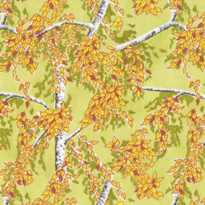 Silver Birch Trees NZ New Zealand Quilt Fabric