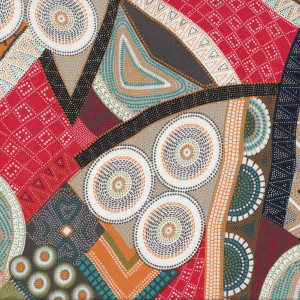 Bindoon Australian Aboriginal Indigenous Quilting Fabric