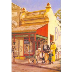 Bushells General Store Nostalgic Postcard