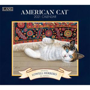 American Cat Lowell Herrero 2021 Lang Wall Calendar